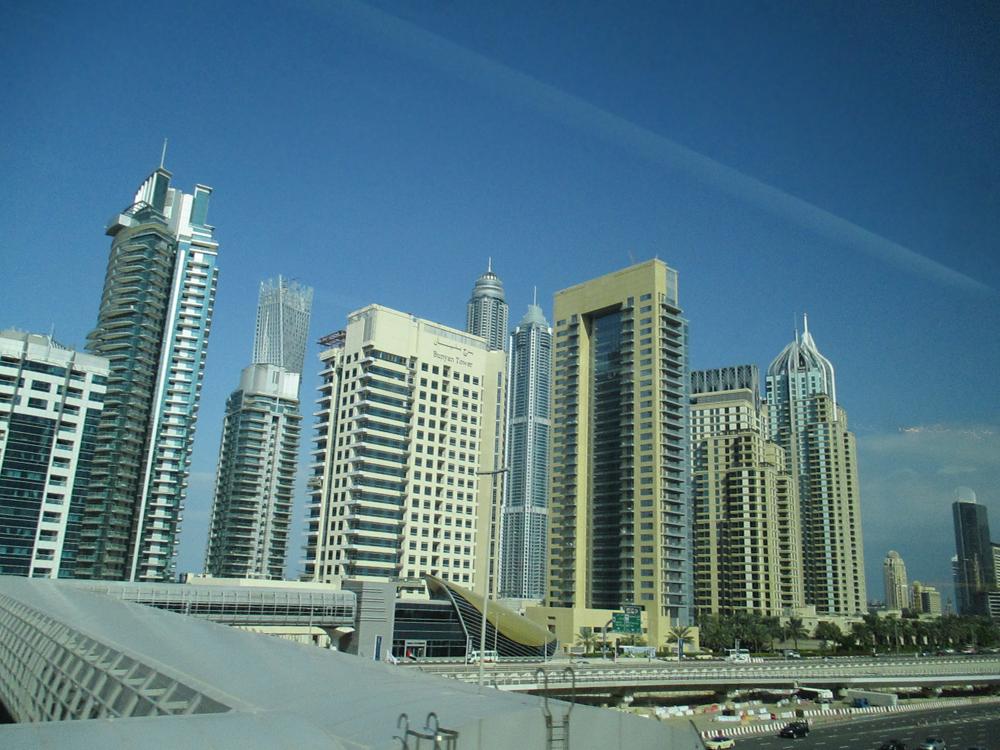 Dubai New Downtown - Burj Khalifa, worlds tallest buildings