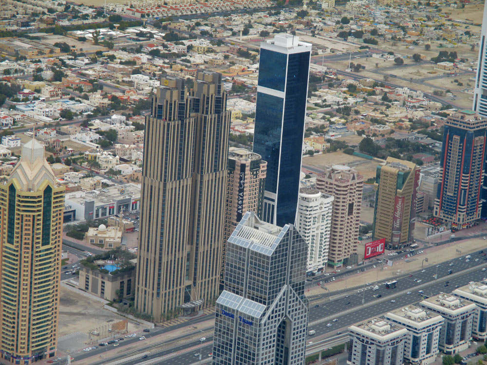 Dubai New Downtown Burj Khalifa Elevators In Worlds