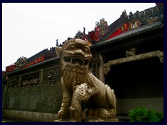 Ancestral Temple of the Chen Family, Chinese lion