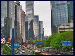 "Tianhe's ""old"" CBD seen from Gangding."