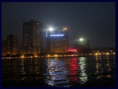Haizhu from Pearl River at night.