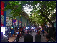 "Zhongshan Road is a narrow, winding, road with small stores, markets, shoe stands, buildings in typical Chinese style and trolley buses. It is very crowded and a bit chaotic, but it is worth to visit since it gives a taste of ""the real China"". We visited it when looking after the famous Temple of Six Banyan Trees , that we didn't manage to find."