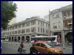 "Zhongshan Road is a narrow, winding, road with small stores, markets, shoe stands, buildings in typical Chinese style and trolley buses. It is very crowded and a bit chaotic, but it is worth to visit since it gives a taste of ""the real China"". We visited it when looking after the famous Temple of Six Banyan Trees, that we didn't manage to find."