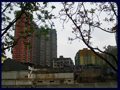 Rundown highrises near Guangxiao Temple, an ancient temple that was closed for reconstruction during when we finally managed to find it!