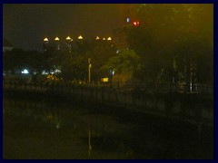 Pearl River at Shamian Island by night