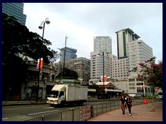 Salisbury Road, Tsim Sha Tsui, often shortend TST.