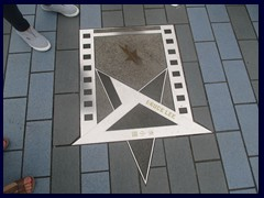 The star of Bruce Lee, Avenue of the Stars.