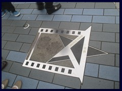 The star of Jackie Chan, Avenue of the Stars.