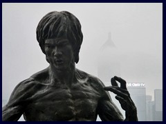 Bruce Lee statue, Avenue of the Stars