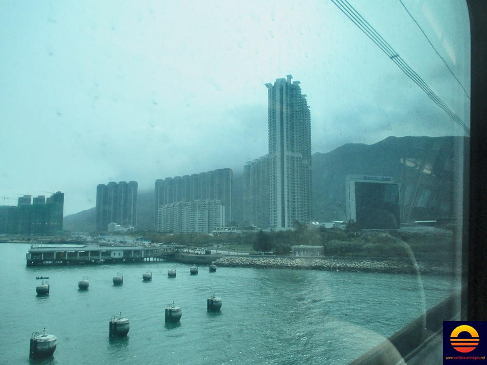 It Is A Tung Chung New Town On Lantau Island That Consists Of Tall Apartment Buildings