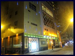Best Western Harbour View Hotel, entrance at night.