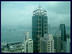 118 Connaught Road West, a 40-storey skyscraper from 1994, seen from Best Western Harbour View Hotel.