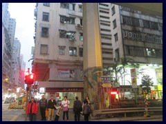Hill Road/Queens Road West, Sai Ying Pun. The area where the early British military stayed.