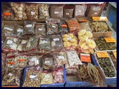 Typical dried food in Sheung Wan and Sai Ying Pun.
