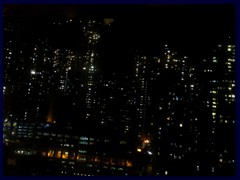 Night view of Sheung Wan from the hotel.