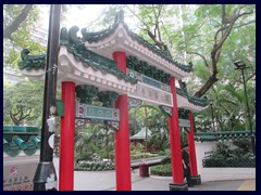 Hollywood Road Park is a small but beautiful park in typical Chinese park.