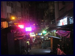 SoHo, that means South of Hollywood Road, is Hong Kong Island's foremost and most hip  entertainment and restaurant district