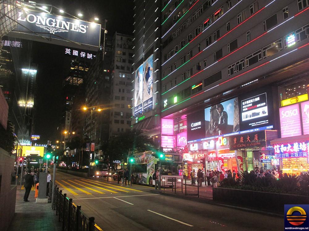 Nathan Road The Main Of Tsim Sha Tsui TST Kowloon Really