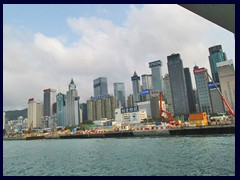 North Point and Causeway Bay seen from Star Ferry