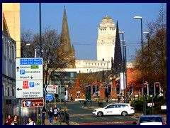 University Area - Parkinson Bldg and churches