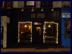 Leeds by night - Bad Apples Rock Bar