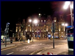 Leeds by night - Old Post Office, City Square