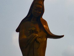 Kun Iam Statue. Kun Iam is the Buddhist goddess of mercy and this is the tallest statue of her in the world.