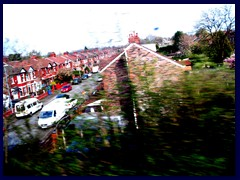 Residential area near Manchester Airport