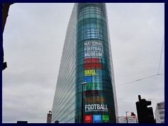 National Football Museum - exterior on Exhcang Square