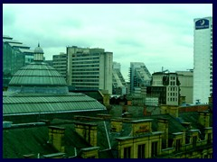 Skyline view from the National Football Museum