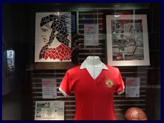 National Football Museum 42 - George Best's shirt
