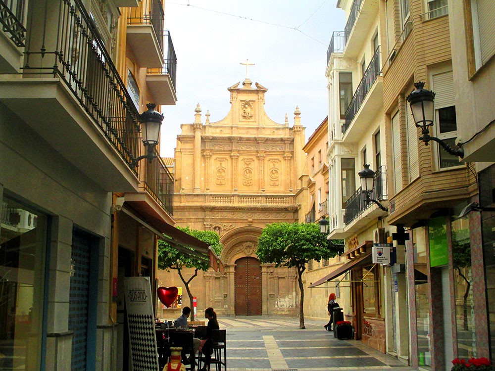 Murcia city centre part 1 old town cathedral of st for Casa jardin murcia
