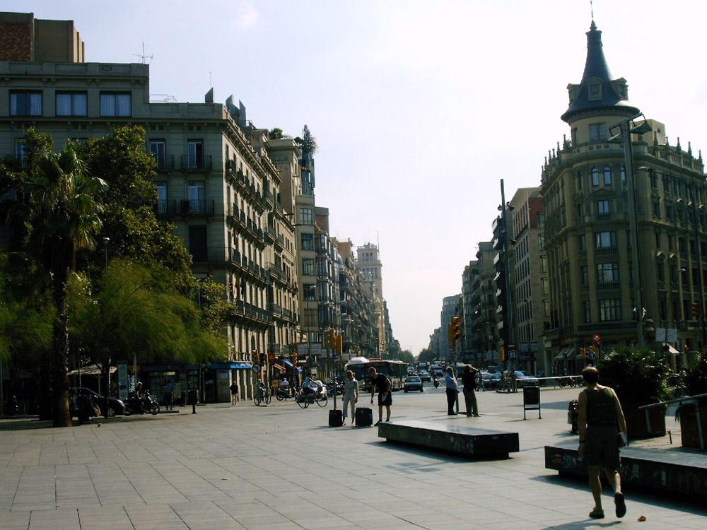 Barcelona pla a catalunya - Placa universitat barcelona ...