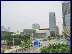 Shenzhen Children's Palace is in the center of this photog.