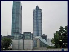 New World Center and Jiang Su Building.