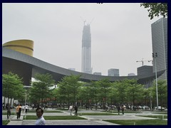 Civic Center and Pingan Finance Centre, Futian district.
