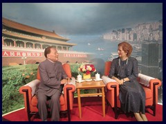 Deng Xiaoping and Margret Thatcher, Beijing and Hong Kong meets at this exhibition on Shun Hing Square's observation deck.