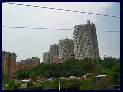 Shenzhen North outskirts seen from the train to Guangzhou 05 - residential areas