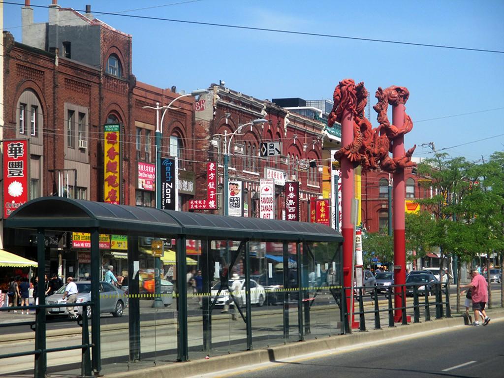 Chinatown tại thành phố Toronto Canada