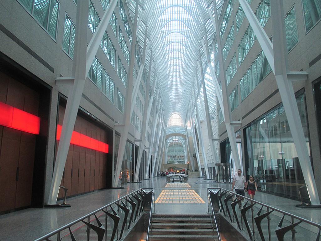 Toronto Eaton Centre Brookfield Place Allen Lambert