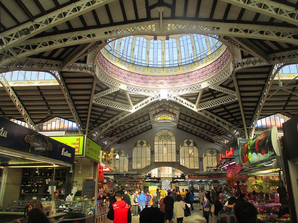 Valencia Mercat Central Central Market Plaza Del