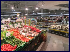 Iki supermarket was recently  built right across our apartment in Naujamiestis (New Town), a great advantage.