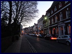 Micklegate at sunset