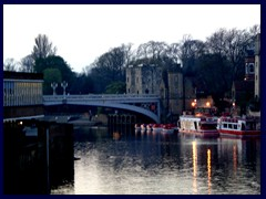 York by night 03 - River Ouse