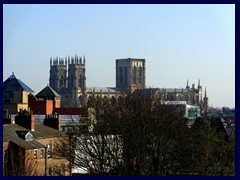 Views from the Safestay hostel - York Minster